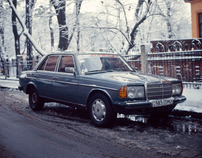 Mercedes-Benz W123 tribute