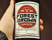 Forest Grown Beer Label