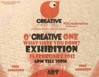 OCreative One! What have you been done? Exhibition