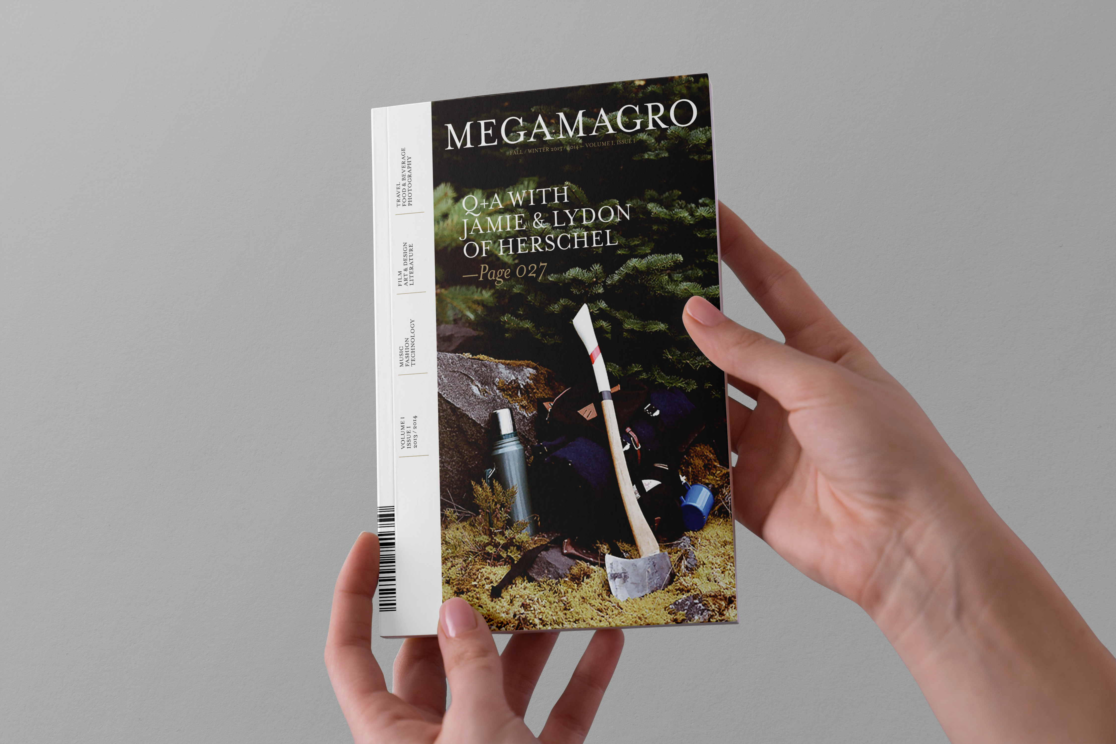 Megamagro Issue N°01