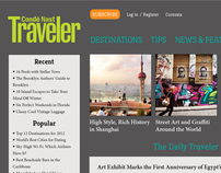 Condé Nast Traveler Website