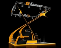 Exhibition stand of G-Energy for Gazprom neft