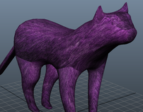 Purple Cat Model (unfinished)