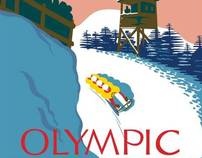 Olympic Bobsled Poster