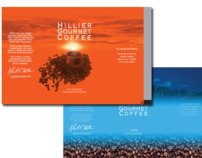 Hillier Gourmet Coffee packaging