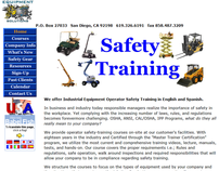 San Diego Safety Training Website