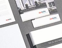 danbolig real estate visual identity