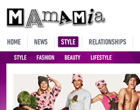 MamaMia.com.au Proposed Redesign