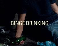 Anti-Binge Drinking Poster Series