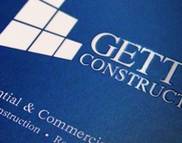 Gettys Construction Business Cards