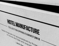 HOTEL MANUFACTURE LOOKBOOK COLLECTION