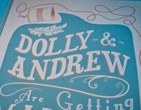 Dolly & Andrew's Wedding Invites