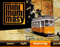 Minimummasy - web design