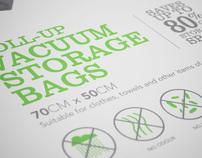 Storage Box Vacuum Bag Packaging