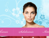 Lemanisis Beauty Center Web Interface Design