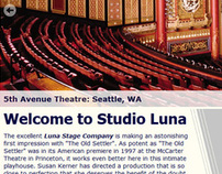Studio Luna Website
