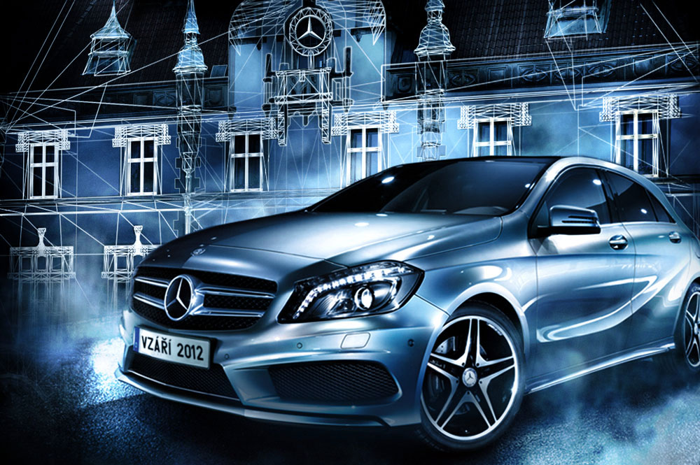 Mercedes-Benz - Mapping Olomouc