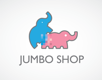 Jumbo. Logo. Sex-shop