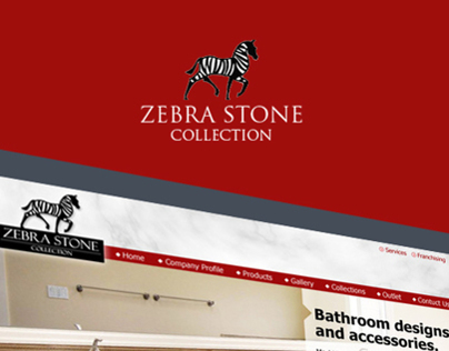 Zebra Stone Collection Web Interface Design