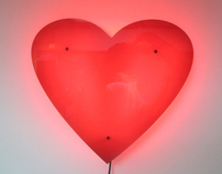 LED Heart Lamp