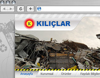 Kılıçlar Inc. Web Interface Design