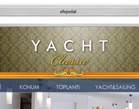 Yacht Classic Hotel Web Interface Design