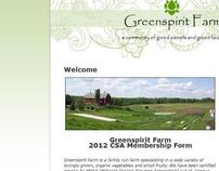 CSA Farm Website Design