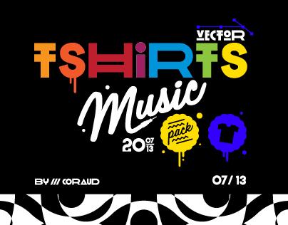 Music T-shirts Pack*