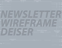 Newsletter Wireframe