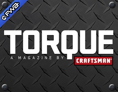 Craftsman Torque iPad Magazine