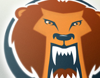 Lion Head Sports Logo