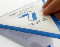TVNZ 7 - TRIANGULAR FOLDING BROCHURE