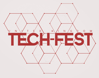 UK Tech-Fest / Logo & Flyer