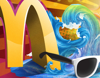 McDonalds ((Sharm El Sheikh BUS ART WORK ))