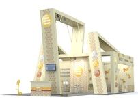 Booth design for Leon-Service plus. Aqua Therm 2010