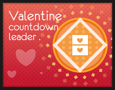 ♥ Valentines Day Countdown Leader