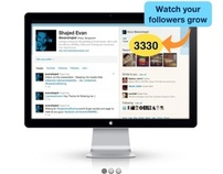 Tweet Find Tools User Interface Concept design