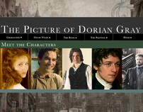 The picture of Dorian Grey website