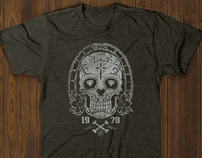 T-shirt designs - Skull vectors