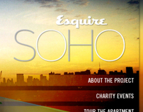 Esquire: Website Design for SOHO House