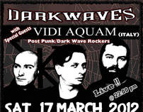 Darkwaves 17th march 2012 - Event Promotion