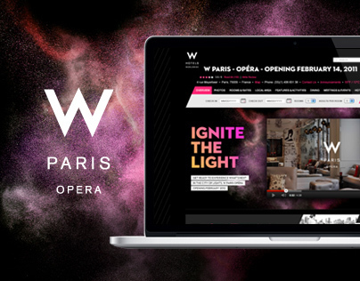 W Paris Opéra Ignite The Light