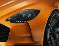 Aston Martin 77 Rapide.
