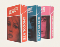 Gainsbourg, Bardot and Birkin Package Design
