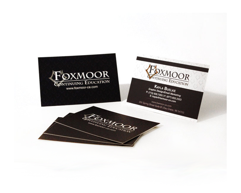 Foxmoor Continuing Education - Business Cards