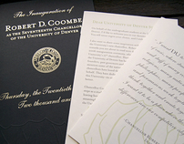 The Inauguration of Robert D. Coombe