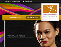 Tanghalang Pilipino (Website Design Proposals)