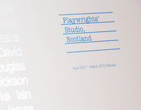 Playwrights Studio Scotland Annual Report 2007-10