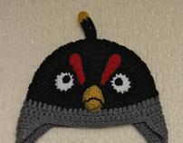Crochet Angry Bird Hat Collection: By Mrs.Vs Crochet