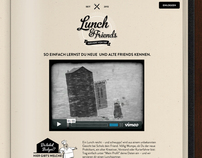 Lunch & Friends Website